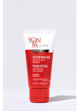 Gommage visage homme Scrub Mousse